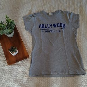 Hollywood Memorial Ride, women's softstyle Tee/Med